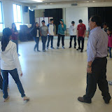 """learning traditional circle dance called """"Gorshay"""""""
