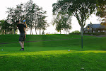 Then Jordan and I went out for a quiet (meaning without Al) game of golf