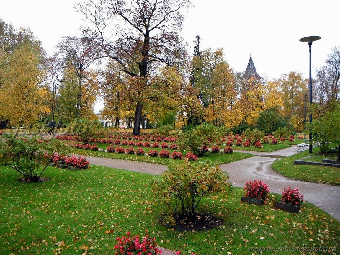 Мемориальное кладбище в Лаппеенранте фото