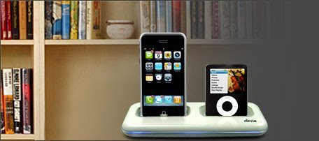 Dexim Dual Dock Charger for iPhone 3G  &  iPod