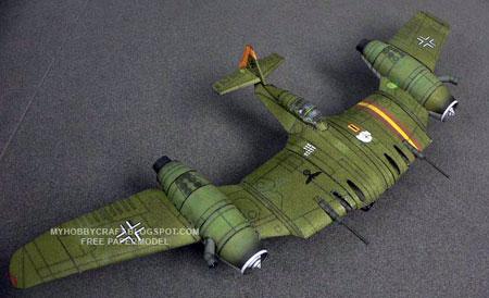 Dusso Plane Papercraft