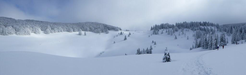 Zimski uspon na Zavižan, 2018.