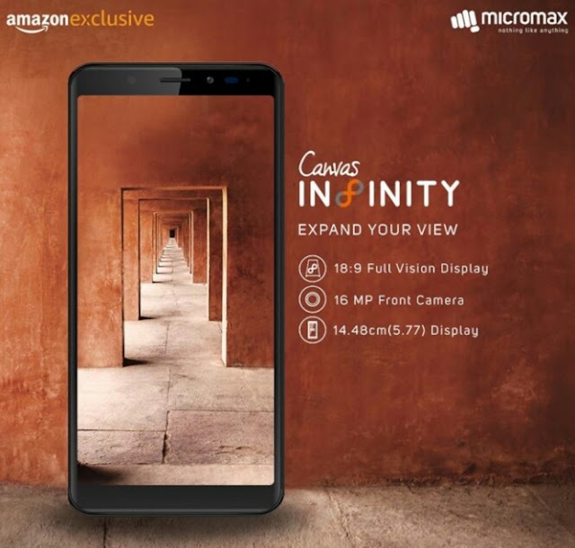 Check Out The Affordable Micromax Canvas Infinity Smartphone That Comes With 3GB RAM 1
