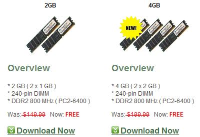 Descargar memoria RAM gratis