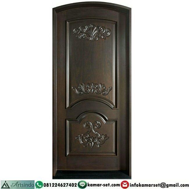 Model pintu sederhana cantik