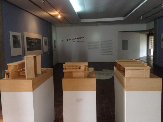 maquetas en el museo jesus soto
