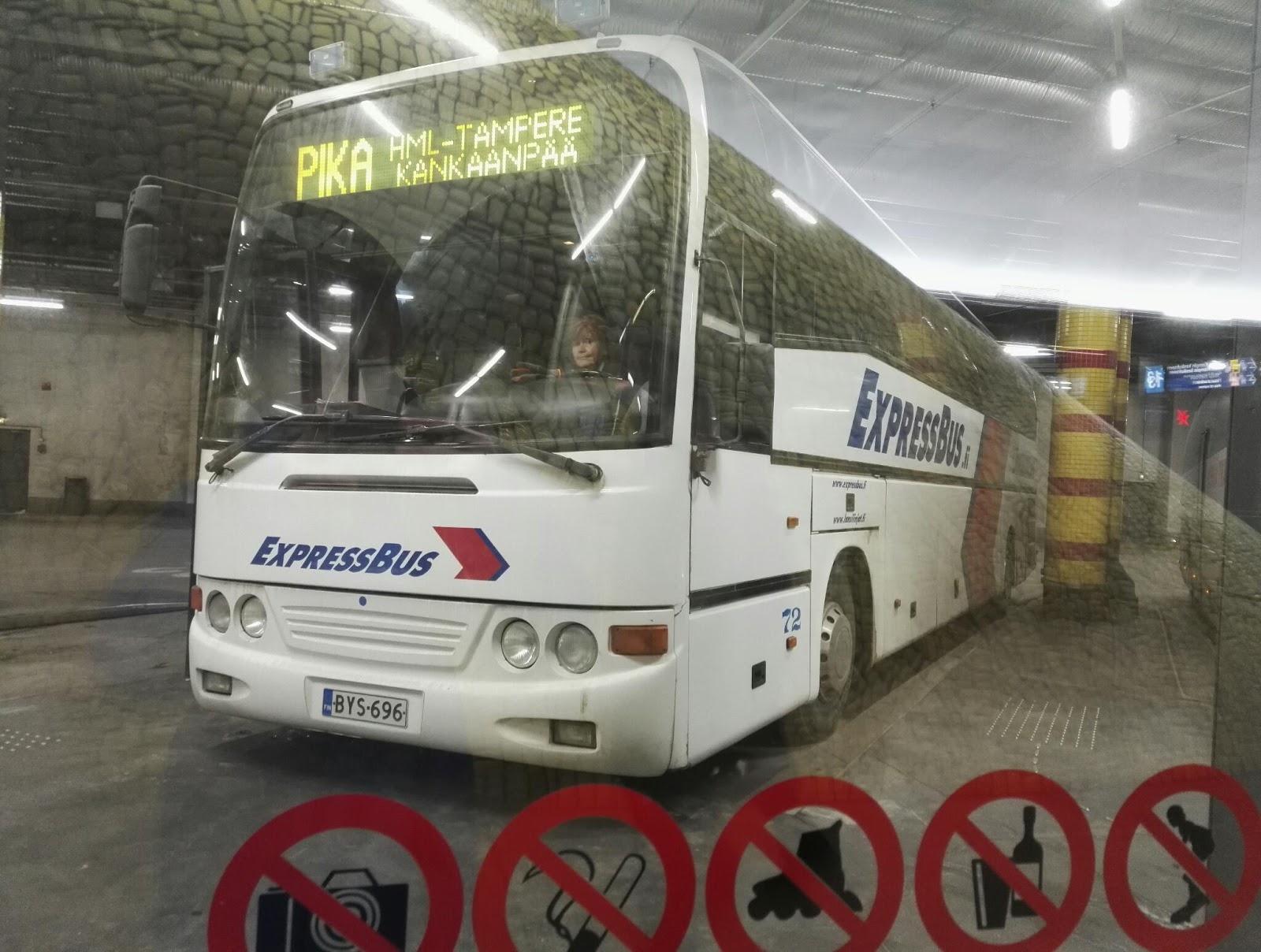 helsinki ikaalinen bussi