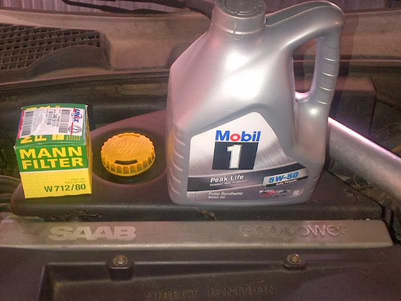 Post your latest oil change - Bob Is The Oil Guy