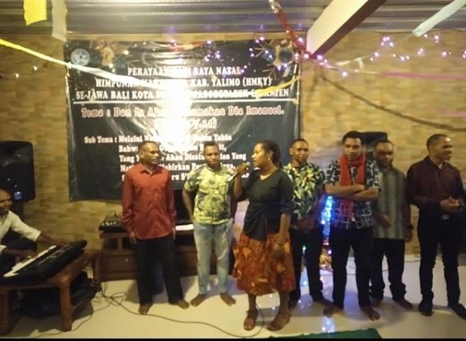 Himpunan Mahasiswa Yalimo Kota Studi SE-JADETABEK Dan Banten Menggelar Acara Perayaan Natal