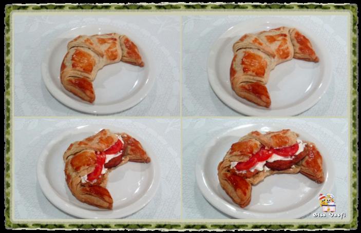 Croissant com massa folhada 1