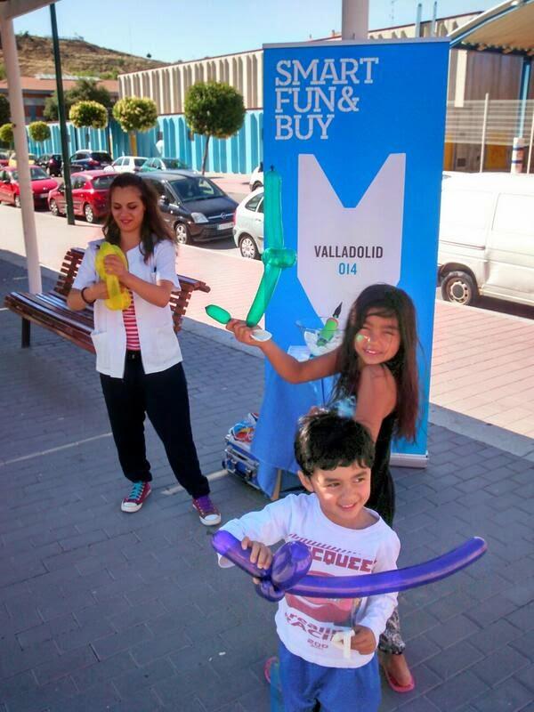 Pintureta en Smart Fun & Buy Valladolid