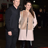 OIC - ENTSIMAGES.COM - Chris and Melissa Ashton at the  LFF: Black Mass - Virgin Atlantic gala in London 11th October 2015 Photo Mobis Photos/OIC 0203 174 1069