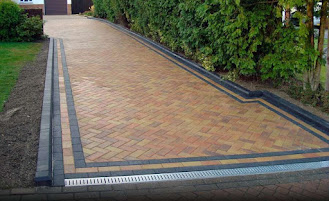 Modern pressure systems driveway and patio cleaning