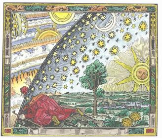 From Latmosphere Meteorologie Populaire Paris 1888 By Camille Flammarion, Alchemical And Hermetic Emblems 1