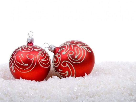 besplatne Božićne pozadine za desktop 1152x864 free download blagdani čestitke Merry Christmas kuglice za bor