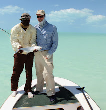 Photo: Dr. Jeff Fowler and his favorite guide- Rambo