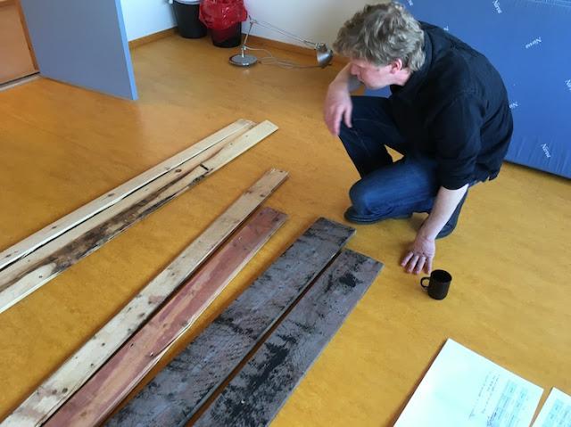 Lasse Kilvær fra Resirqel snakker om materialer