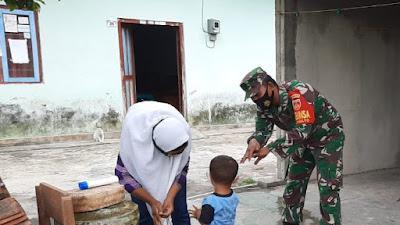 Babinsa Wijimulyo Pendampingan Giat Posyandu Nusa Indah