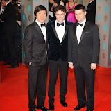 OIC - ENTSIMAGES.COM - Dan Lee, Phil Lord and Christopher Miller at the EE British Academy Film Awards (BAFTAS) in London 8th February 2015 Photo Mobis Photos/OIC 0203 174 1069
