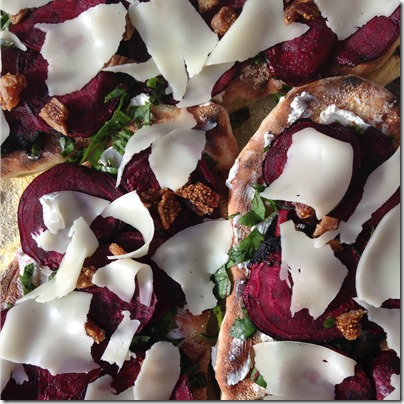 Grilled Beet and Goat Cheese Pizza (2) | Photo | The Lisa Porter Collection