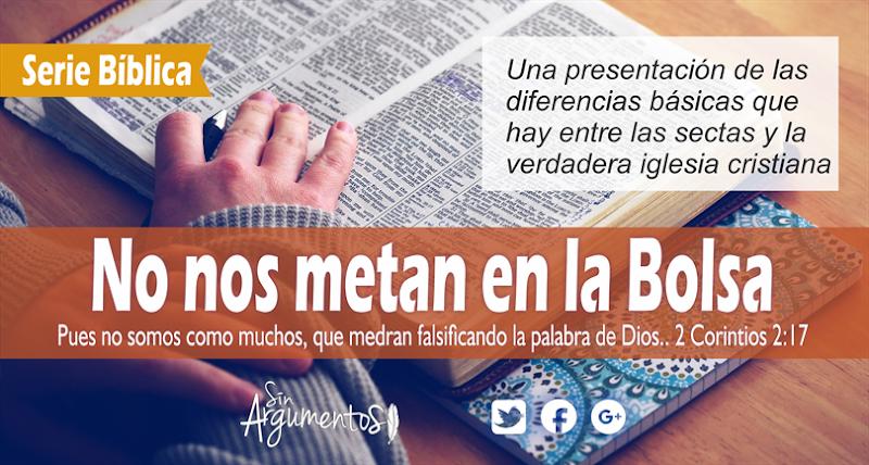 NOS METAN EN LA BOLSA 2Corintios 2.17