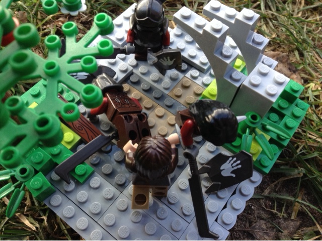the brick brothers lego lord of the rings moc