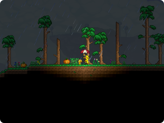 Terraria-Walkthrough_Rain