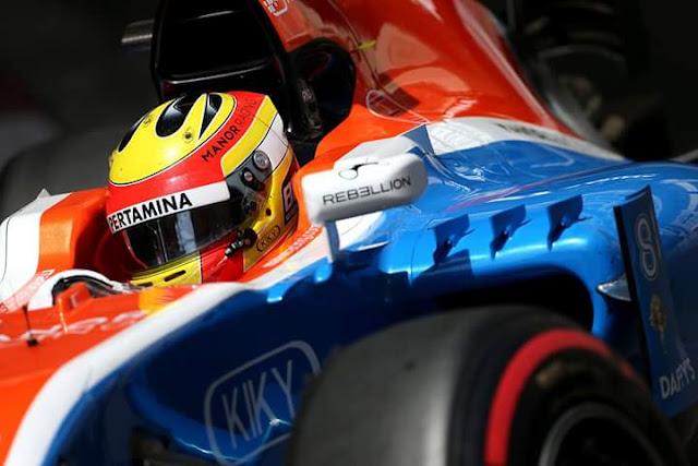 ucapan selamat Idul Fitri dari pembalap F1