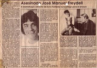 Jose manuel freidel asesinado