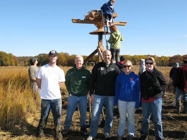 Guilford Salt Meadow Sanctuary Osprey Platform - sfs%252C10-25-09%2Bosprey%2Bplatform%2Binstall%252C109.JPG