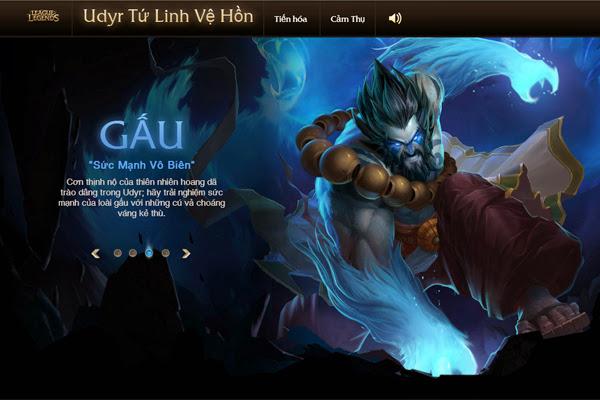 LMHT sắp ra mắt trang phục Udyr Tứ Linh Vệ Hồn 4