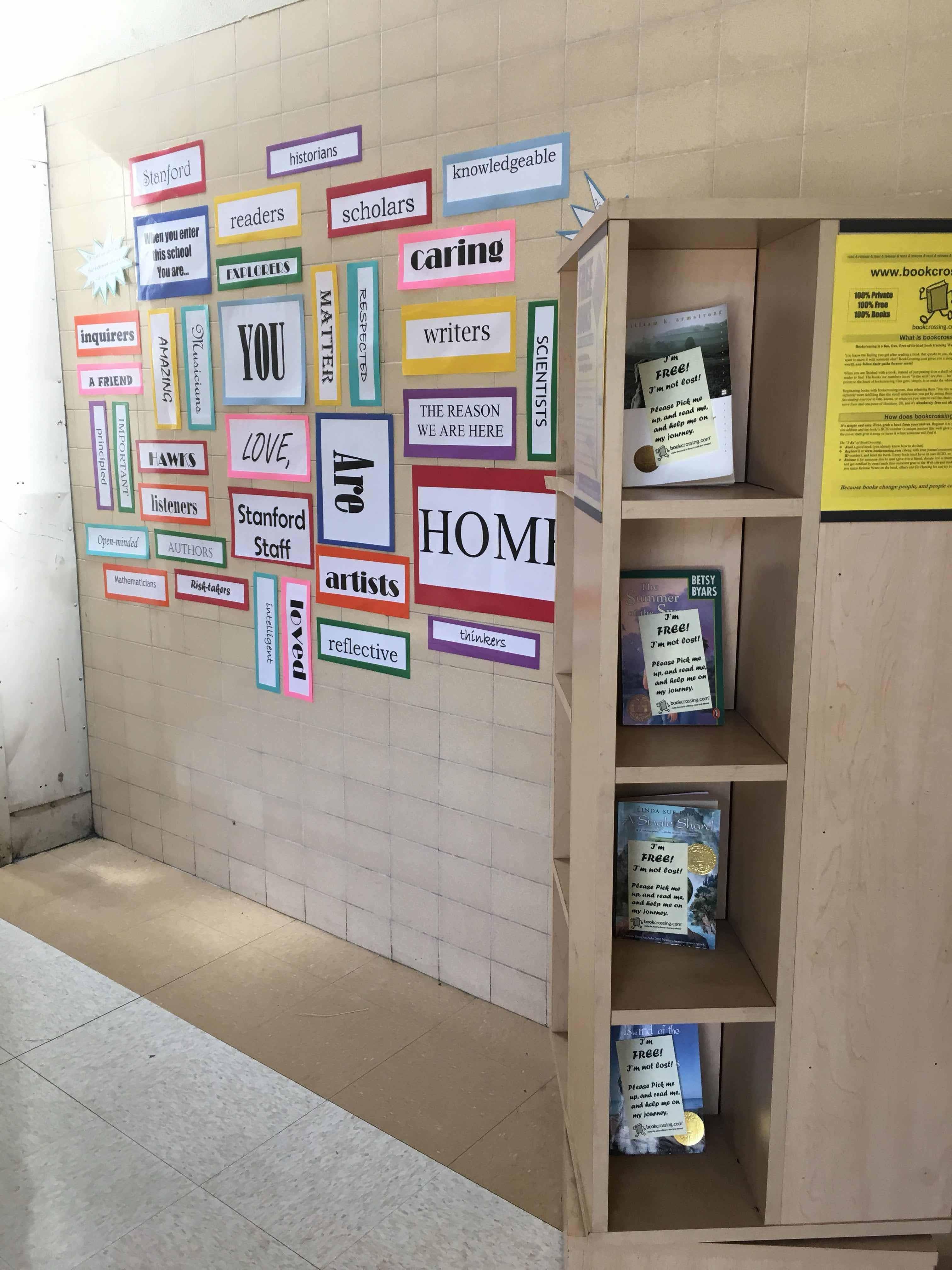 Welcome Back Wall | Mrs  G Talks Books
