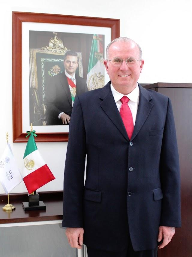 RATIFICAN A JAVIER MENDIETA JIMÉNEZ COMO DIRECTOR GENERAL DE LA AEM