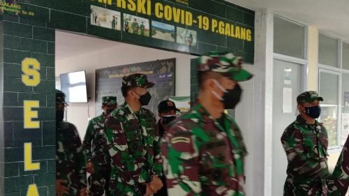 Pangdam I/BB Cek Fasilitas dan Layanan RSKI Covid-19 Pulau Galang