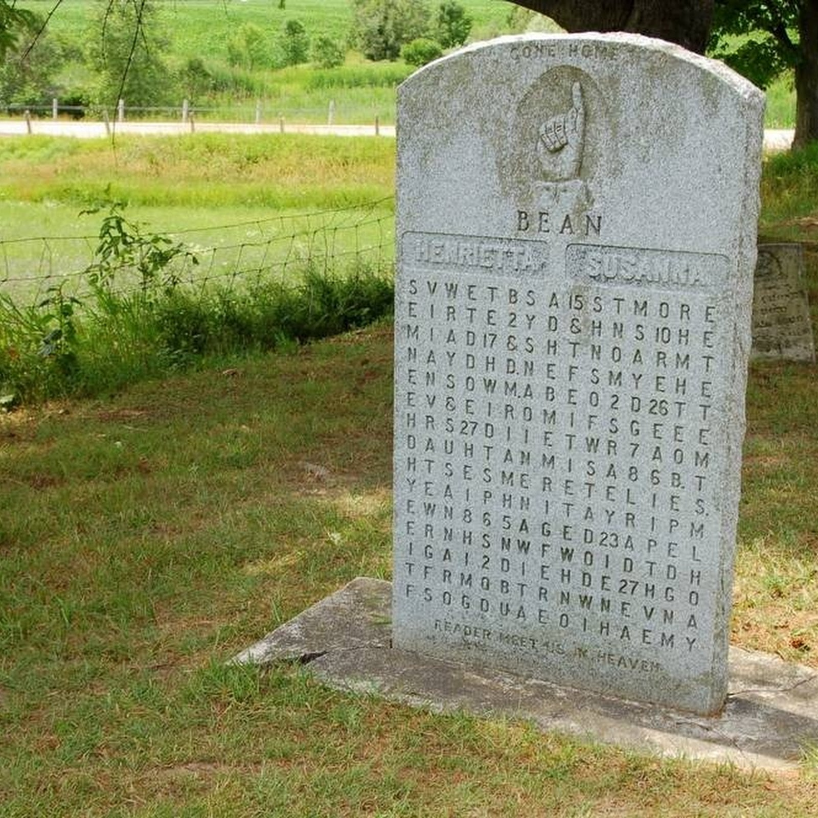 Puzzling Gravestones