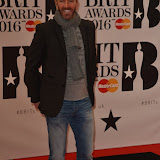 OIC - ENTSIMAGES.COM -  at the  The BRIT Awards 2016 (BRITs) in London 24th February 2016.  Raymond Weil's  Official Watch and  Timing Partner for the BRIT Awards. Photo Mobis Photos/OIC 0203 174 1069
