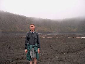 Dad at Kilauea Iki Crater