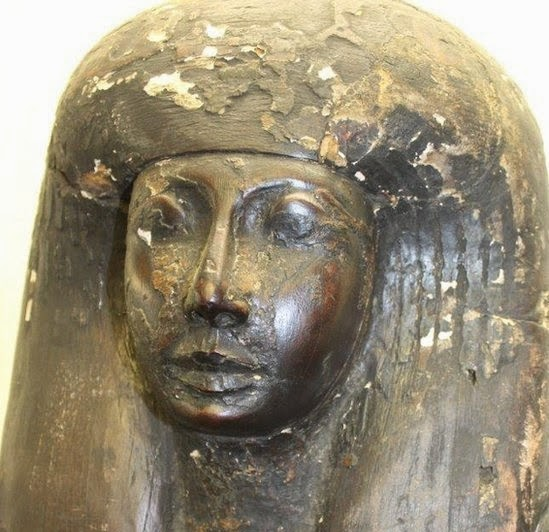 Near East: Egyptian sarcophagus found in Essex house