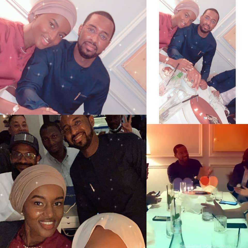 President Buhari's son in-law, Turad Sha'aban celebrates his birthday in Dubai (photos/video)
