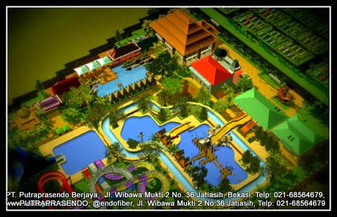 3D waterpark