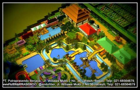 3D waterpark