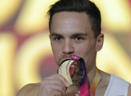 Λευτέρης Πετρούνιας: Πρωταθλητής Ευρώπης για πέμπτη φορά ο Μίδας των κρίκων