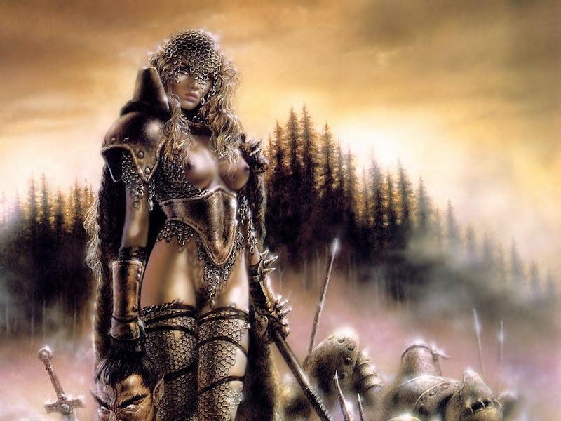 In Fog Fantasy Girl, Magic Samurai Beauties