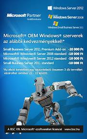 Microsoft Server 2012 plakát tervezés.
