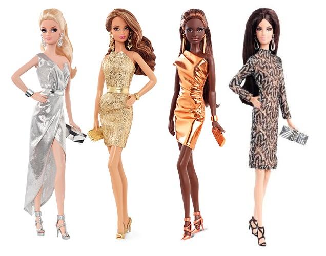 Búp bê Barbie thời trang thảm đỏ BCP86