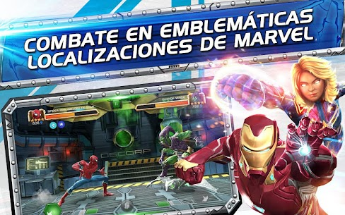 MARVEL Batalla de Superhéroes 4