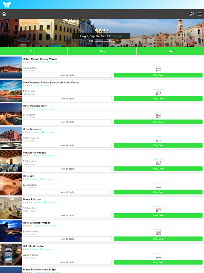 Air Hotels - Save on bookings- screenshot