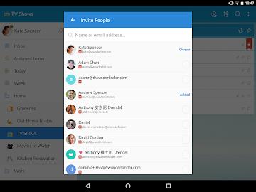 Wunderlist: To-Do List & Tasks Screenshot 9