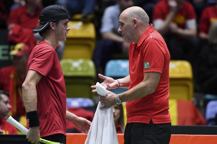 """Davis Cup-kapitein in zijn nopjes na stunt: """"Vandaag hebben ze bewezen dat ze veel meer zijn dan invallers"""""""