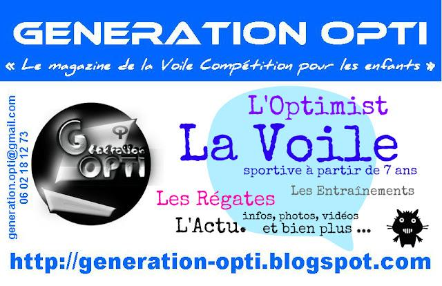 Génération_Opti Magazine voile Compétition enfants optimist